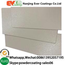 Cabina de metal pulido mate/textura plana Revestimiento en polvo de pulverización electroestática.