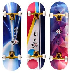 Skate 7 capas de madera de arce de skate para los deportes extremos y al aire libre todo fabricante de venta