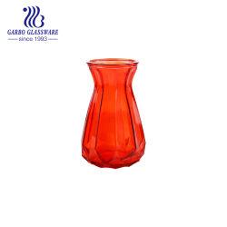 Nouveau design Fashion Design Red Vase en verre pour la maison Décoration (GO1573DZ-1-P)