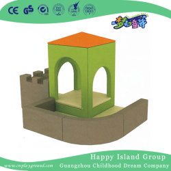 Mobiliário de crianças tipo chalé macio Sofá lugares (HJ-8601)