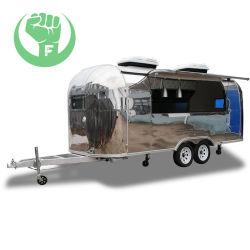 Edelstahl-Zugeständnis-Nahrungsmittel-LKW-mobile Nahrungsmittelkarre