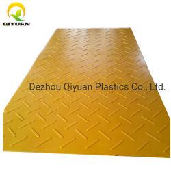 1/2' 두께 HDPE 접지 보호/바닥/고무/플라스틱/자동차/도어/진입로 가드를 위한 미끄럼 방지 매트 포장기계 매트
