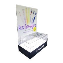 E-cigarette personnalisée présentoir acrylique / E-cigarette en acrylique affichage / E-cigarette support acrylique clair