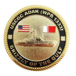 専門の習慣は私達国旗の骨董品の軍隊与えるロゴ(403)の名誉の記念品の硬貨の金属の芸術のクラフトの警察の硬貨のバッジを
