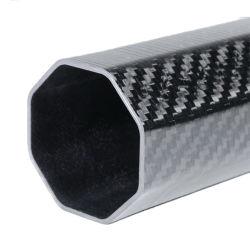 Standoff mixte avec la couleur personnalisée 3K de l'Armure de la fabrication de haute qualité résistant à la chaleur fournisseur tube en fibre de carbone