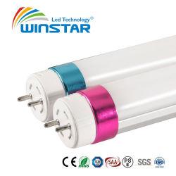 TUV énumérés Al+PC T8 Tube LED Lumières Evg/Kvg compatibles