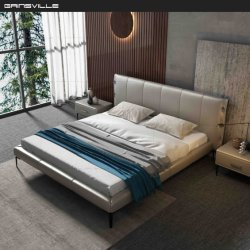 Letto a parete Hot Selling Modern Home Genuine Leather King Size Prodotto in Cina