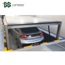 CE гидравлический подъем автомобиля 2 уровнях яму подземный гараж оборудования автоматический стояночный системы