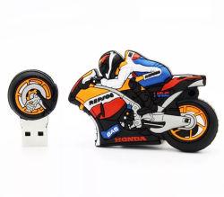 سعر الجملة بندريفز 32 جيجا بايت تصميم الدراجات النارية موضة المطاط فلاش USB محرك أقراص سعة 64 جيجابايت مزود بمحرك أقراص USB ثابت سعة 16 جيجابايت