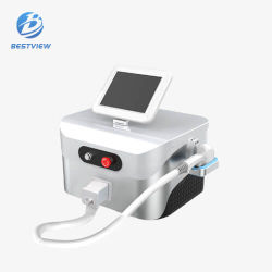 Portátil 3 la longitud de onda Láser de Diodo Depilator para eliminar el vello de la máquina proveedor de equipos de Salón de belleza