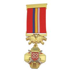 Ruso personalizado único de lujo en 3D de Honor Premio medalla religiosa de metal