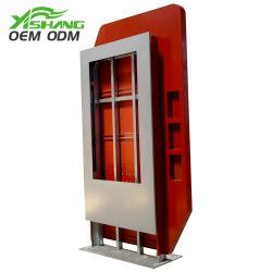 Soldadura de acero inoxidable en el exterior del Gabinete de estampación de piezas de chapa metálica