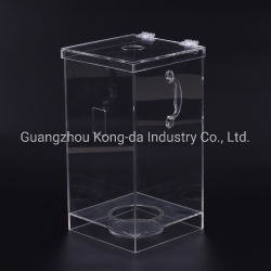 De verwerkende Aangepaste Plastic AcrylDoos van de Vertoning