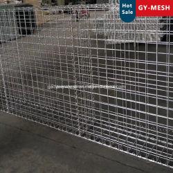 Galvanizado en caliente malla soldada cestones Cesta/malla de piedra/Gaviones galvanizados Cage/valla de malla de alambre/Gabion Mattres