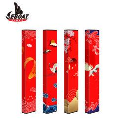 Wegwerfe Zigarettekundenspezifisches Aroma farbiger E Cig des Eboat Vitamin-