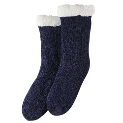 Calzini da camera Fuzy Heavy FLEECE foderato Calzini invernali per slipper