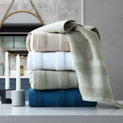 Überlegenes luxuriöses weiches Hotel u. BADEKURORT Qualitätstuch-Set