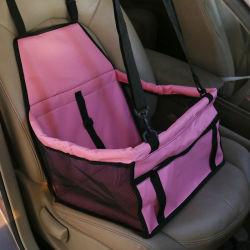 Dog Carro Seat Atualizar Deluxe Booster Portátil Pet Dog banco do carro com segurança com clipe trela e Cão cobertor, perfeita para pequenos animais de estimação