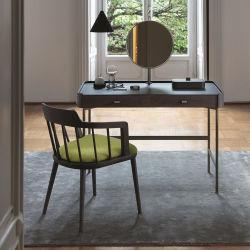 Современный деревянный шкаф и письменный стол для макияжа парикмахерский салон мебели Трюмо
