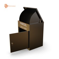 Knock-down Locker Metal Drop Cabinet pakket Delivery Box