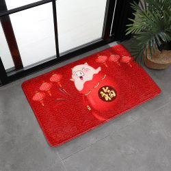中国の製造業者のEcoの友好的な普及した装飾的で柔らかい浴室の浴室の敷物のマット