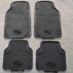 Оптовая торговля высокого качества по борьбе с бортовым поворотом ПВХ/резиновые универсальные коврики пола автомобиля