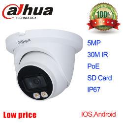 5MP Full Color IP Camera IPC - Hdw3549TM - AS-LED Dahua PoE Camera CCTV 감시