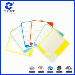 Custom, бездумных пленки на зеленый и оранжевый/красная бумага с покрытием для вращательного печать этикеток