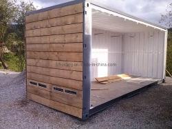 Pack de conteneur modulaire plate steel frame Bureau Chambre caravane Camp de travail en cas de catastrophe