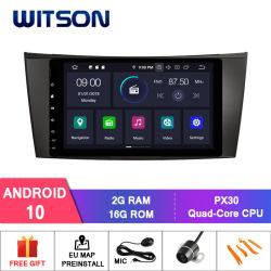 Processeurs quatre coeurs Witson Android 10 pour Mercedes-Benz Classe E W211 (2002-2008) /de la classe G W463 (2001-2008) /CLS W219 (2004-2011) DIN vidéo HD 1080p