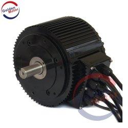 Motore senza spazzola efficiente potente del motociclo 10kw con il certificato del CE