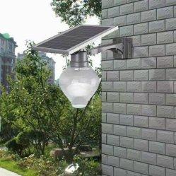 اقتصادية أوروبية النمط بسيطة أحدث جودة أبل شكل Solar ضوء LED على الجدار في الحديقة والشارع