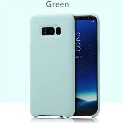 100% 오리지널 액체 케이스 휴대폰 고무 방수 실리콘 케이스 삼성 S8의 경우