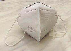 Kn95 N95 Ffp2の等級の保護病院のDisponsableの大人および子供のためのセリウムBef 95%が付いている塵によって殺菌する3ply医学の外科マスク