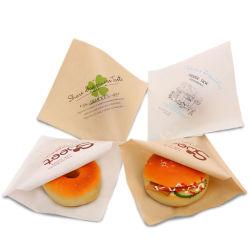 L-type de Zak van het Document van de Zak van de Hamburger van de Sandwich van het Document van het Broodje van de Melk van het Gebakje