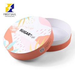 FSC umweltfreundliche 4c Drucken Papier Tube Papier Box Verpackung für Cafe Sugar