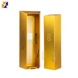 Kappen-und Unterseiten-Wein-Papierkasten verpackenc$gold-c$stab-form Kasten des Fsc-umweltfreundlicher Drucken-4c