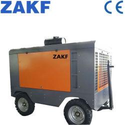 58kw 7m3/min 8bar Luftkompressor Dieselmotor Mobile Kompressor