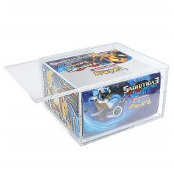 علبة منتجات صندوق اكريليك شفافة مخصصة مربع شاشة التخزين المربع أكريليك إكريليك إكرابليس
