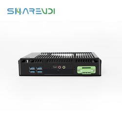 Processeur Intel Core i5 4200u processeur NIC Gigabit 6 ports USB Mini PC sans ventilateur Ordinateur de bureau