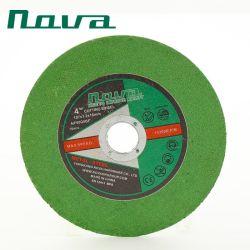 Green Color Grinder Abrasive Pulido Herramienta de Corte Cortar Rueda de Disco
