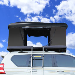 Auvent de pliage gonflable Cube Pop-Top chariot véhicule de camping sur le Toit Voiture tente sur le toit de l'événement avec échelle coque rigide automatique