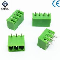 緑のフェニックスの接触8の方法3.5mmピッチのプラグイン可能な端子ブロック