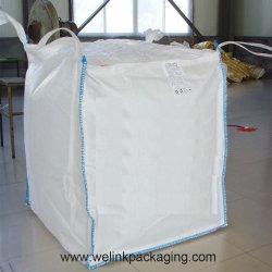 防水大きいリサイクルの1つのトン1000kgのPPによって編まれるジャンボプラスチックFIBC袋の製造業者