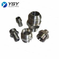 Diverses pièces de rechange CNC de chemin de fer de poisson plaque métallique en acier