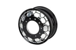 20-28 inch aangepaste gesmede aluminium lichtmetalen velgen, 1 stuk zwart Machinaal bewerkt voor personenauto