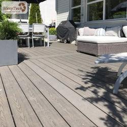 WPC esterno Decking 145*21mm in plur balcone decorazione materiale facilmente installabile