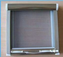 Tela de insetos coloridos tela da janela de malha de PVC de malha de fibra de vidro