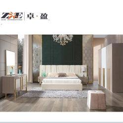 現代ホーム家具の製造業者の贅沢で高い光沢のある絵画寝室の家具