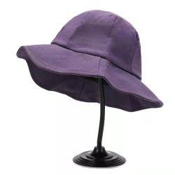 أزياء القطن المخصصة للنساء في الخارج Fisherman Bucket Purple